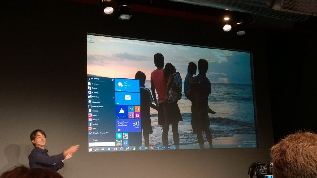 microsoft windows10 launch